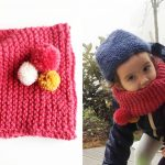 Tuto snood tricot fille