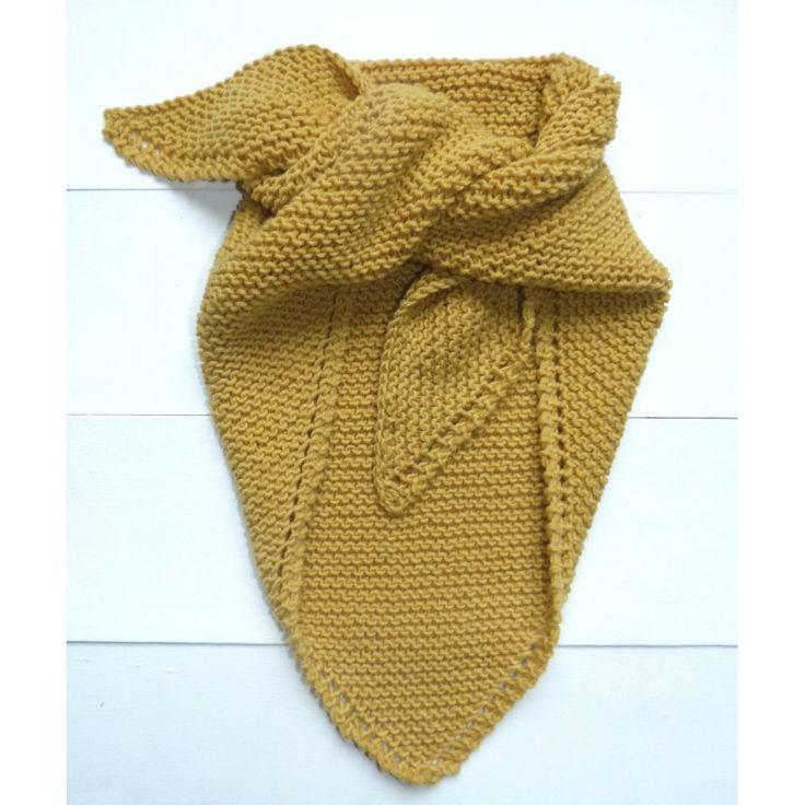 Tuto tricot chale femme laine et tricot - Tuto tricot debutant gratuit ...