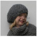 Tuto bonnet fille tricot