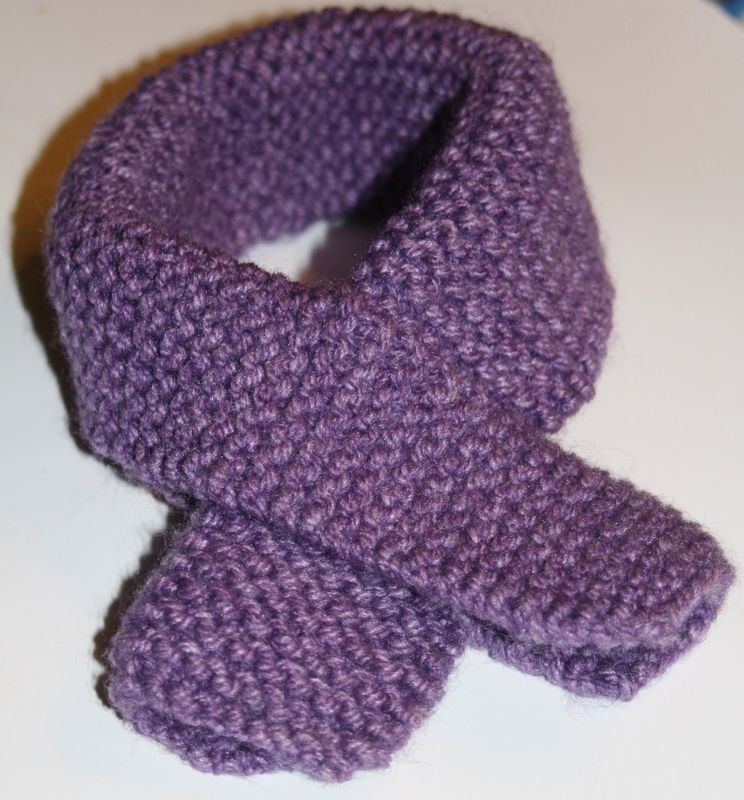 modele echarpe fillette tricot laine et tricot. Black Bedroom Furniture Sets. Home Design Ideas