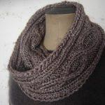 Modele de snood à tricoter
