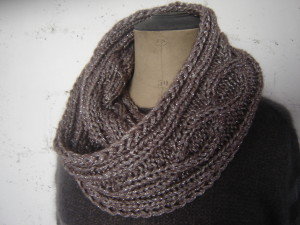 modeles tricot snood