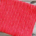 Tricoter snood facile