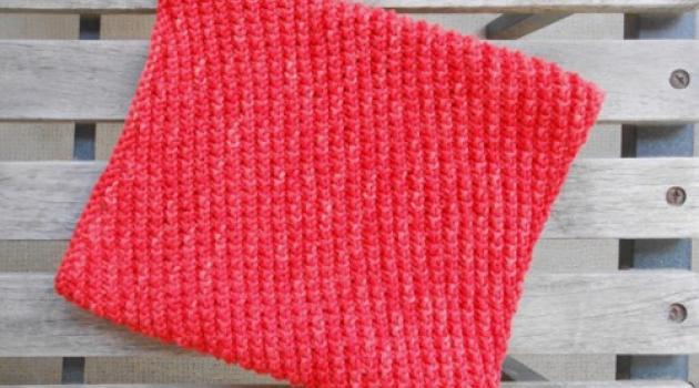 tricoter un snood debutant
