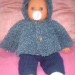 Modele tricot pour poupon 30 cm