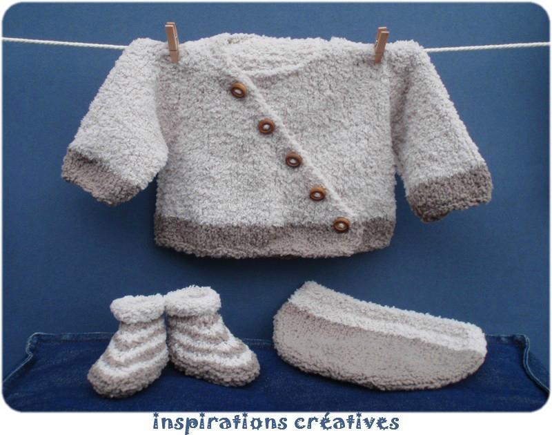 modele tricot layette garcon
