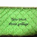 Tuto tricot point fantaisie