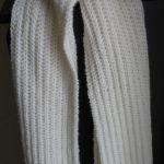 écharpe à tricoter femme