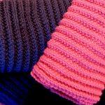 Modèles écharpes tricotées main