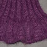 Modèle tricot écharpe gratuit