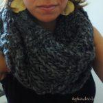 Modele echarpe snood a tricoter