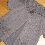 Tuto gilet tricot fille