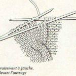 Tuto tricot torsade simple