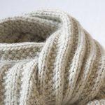 Modele tricot echarpe femme