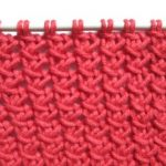 Point en tricot