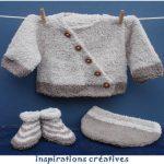 Modèle tricot layette naissance