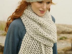 tricoter une echarpe pour femme
