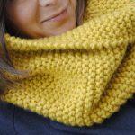 Point de mousse tricot