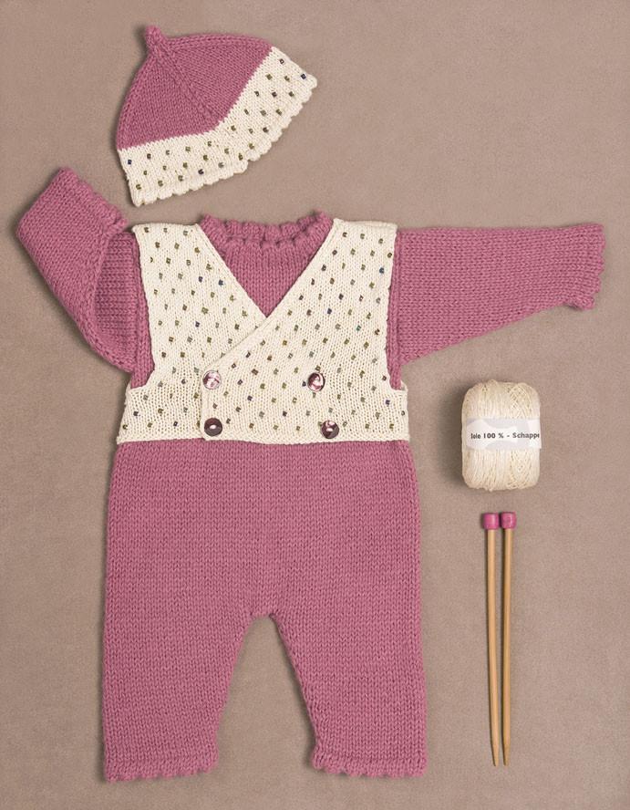 kit tricot bebe pas cher