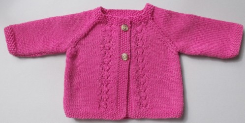 explications layette tricot gratuit