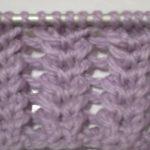 Modele de point tricot