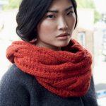Modèle gratuit tricot snood femme