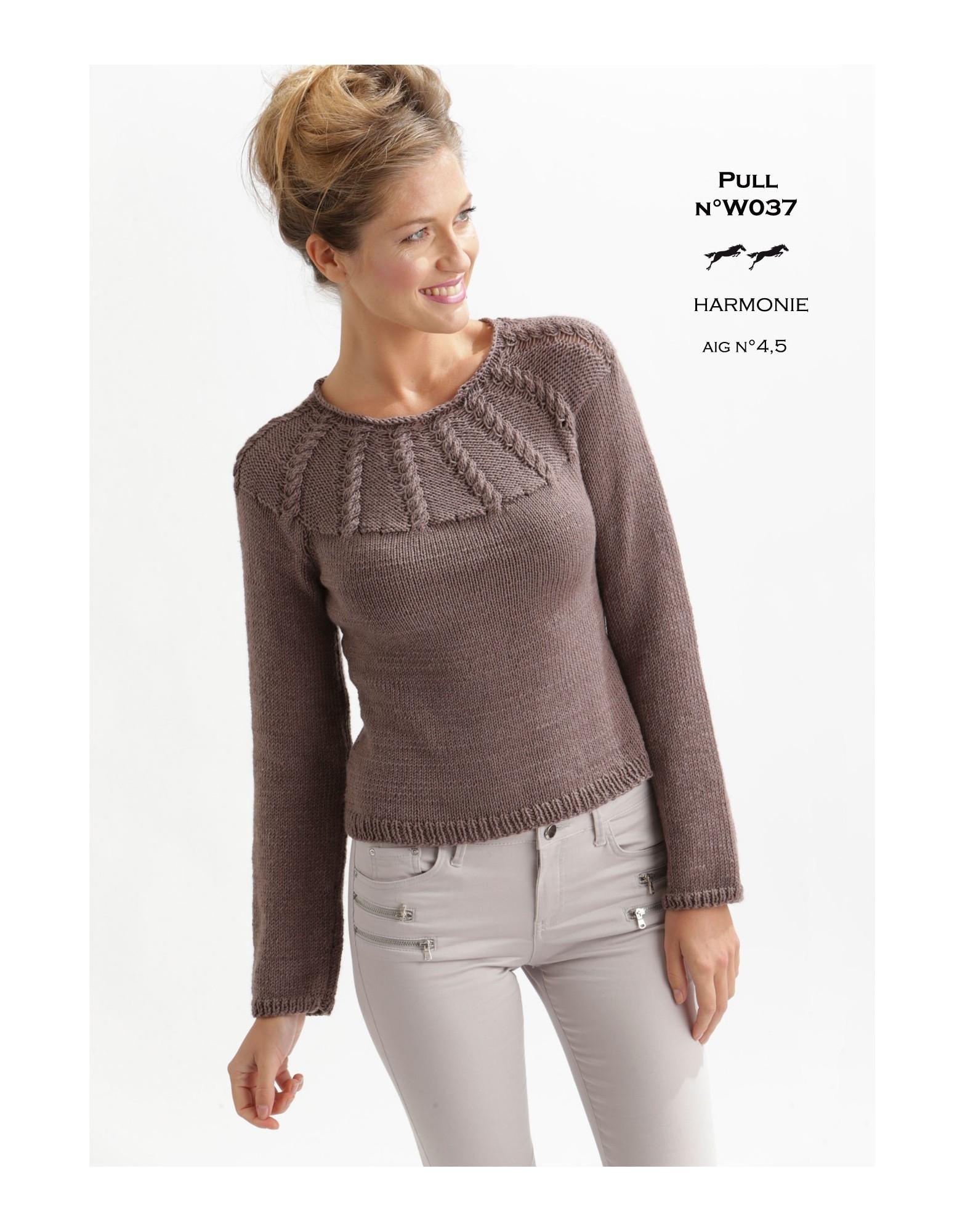 modele tricot original gratuit
