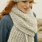 Modele tricot echarpe femme gratuit