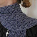 écharpe tricot modèle gratuit