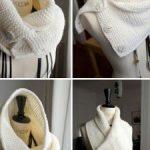 Snood tricot modèle gratuit
