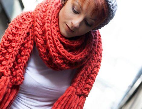 tricoter echarpe laine laine et tricot. Black Bedroom Furniture Sets. Home Design Ideas