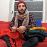Faire du tricot
