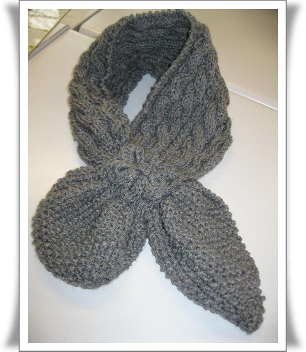 modele de tricot echarpe gratuit