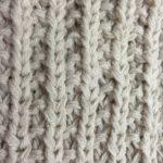 Les points en tricot