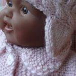 Modele tricot pour poupon 40 cm