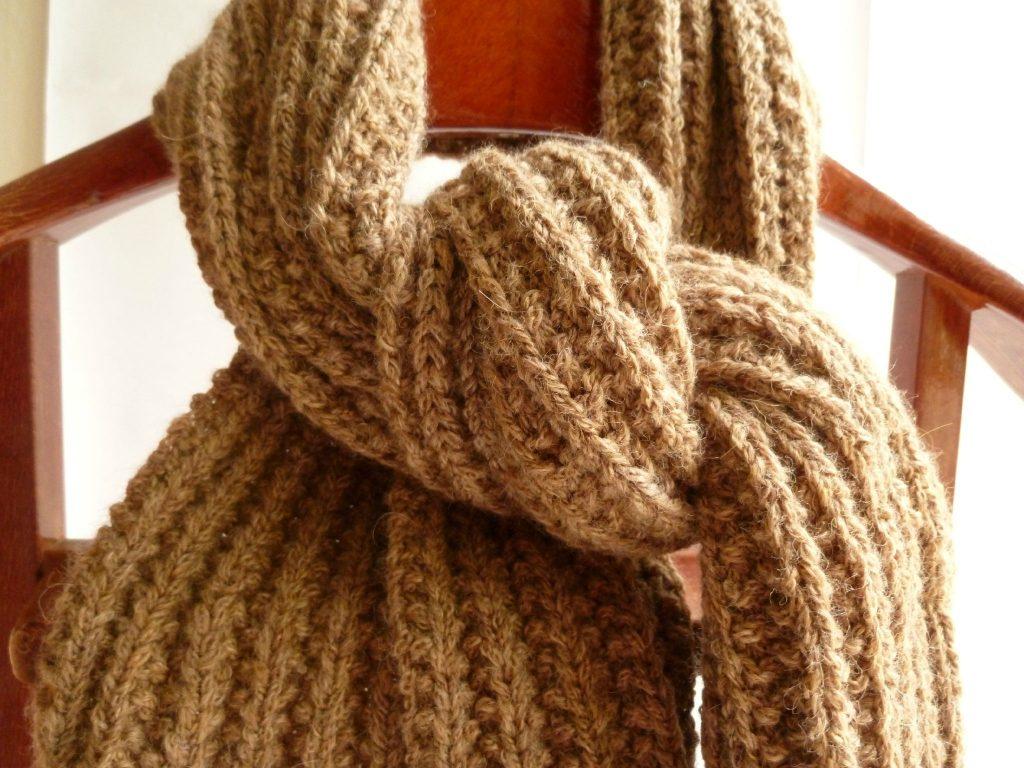 Modele echarpe grosse laine Laine et tricot ac5d4911f9d