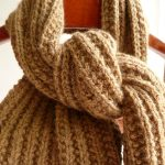 Modele echarpe grosse laine