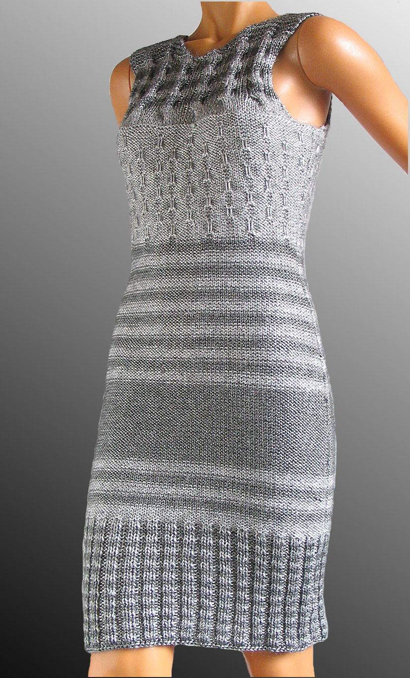 aaaa3fff2e1 Tuto robe tricot femme - Laine et tricot