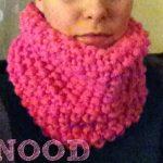 Apprendre a tricoter un snood