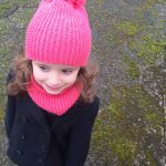 Snood fille a tricoter