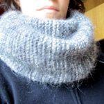 Comment tricoter un foulard tube