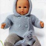 Modèles gratuits tricot pour poupon 30 cm