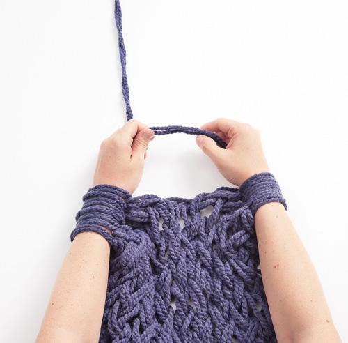 tricotage a la main