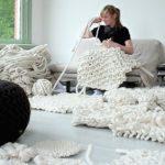 Le tricotage aux aiguilles