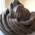 Tricoter un foulard debutant