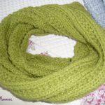 Modele tricot echarpe snood gratuit