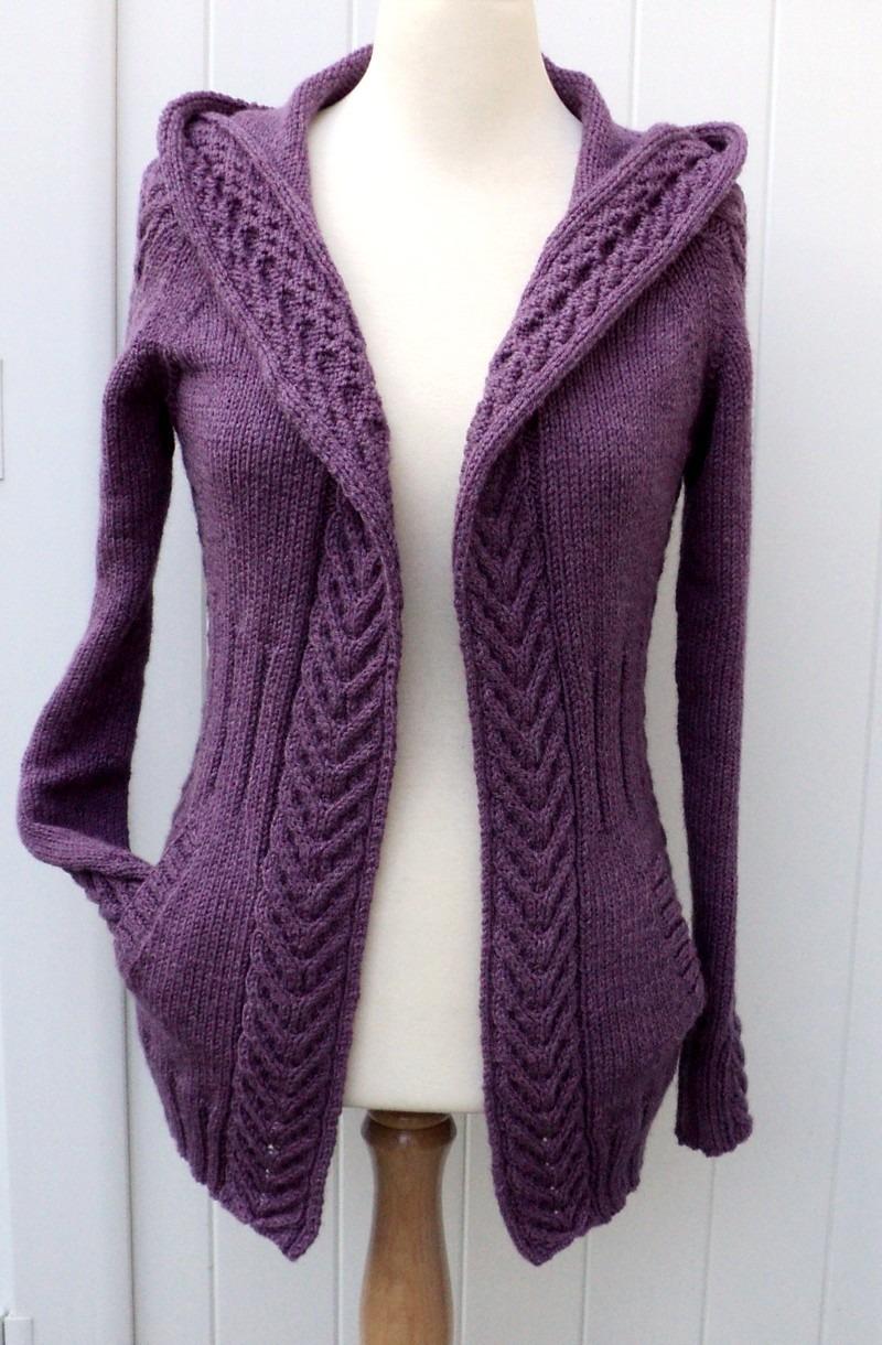 Tuto tricot cardigan femme laine et tricot - Tuto tricot debutant gratuit ...